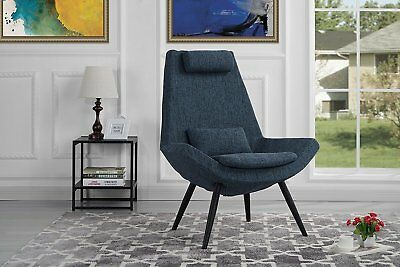 Awe Inspiring Contemporary Fabric Living Room Accent Chair W Headrest Pdpeps Interior Chair Design Pdpepsorg
