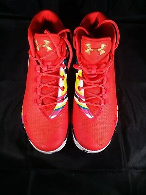 6c759bb9cc34 NEW Under Armour UA Steph Curry 3 Chinese New Year 1269279-984 Men s Size 9