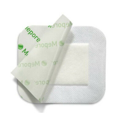 Mepore 7cm x 8cm Self-Adhesive First Aid Dressing, For Cuts Burns Wounds
