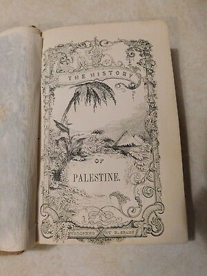 The History Of Palestine By John Kitto 1857 Illustrated