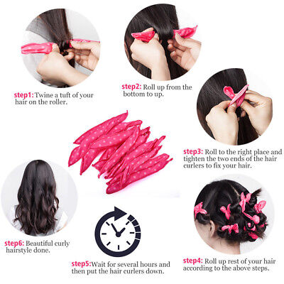 Fashion Long Hair Curlers Curl Formers Hair Roller Spiral lot Beauty Y5