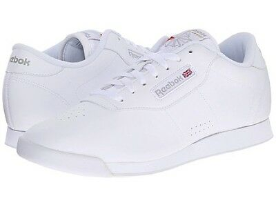 507293deb5f REEBOK PRINCESS WHITE 1475 Women s Classic Leather Shoes Sneakers ...