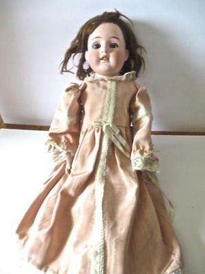 "Antique Simon & Halbig Bisque Head Doll 24"" No Reserve Needs Help!   Doll #2"