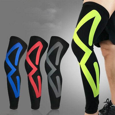 Leg Knee Pads Sleeves Support Legwarmers Cycling Running Safety Leg Breathable