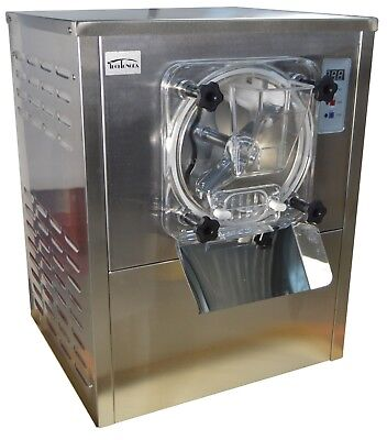 110V Commercial Hard Ice Cream machine Frozen Ice Cream Maker12-20L/H USED