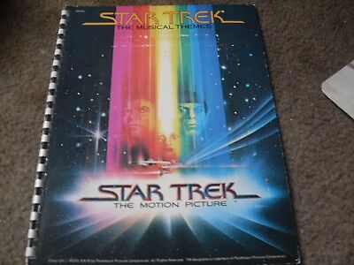 Star Trek The Movie Studio Booklets & The Musical Themes