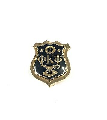 Antique Solid Gold Phi Kappa Psi Fraternity Pin