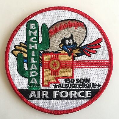 USAF Patch 150th Special Operations Wing, 150th SOW, Enchilada Air Force!