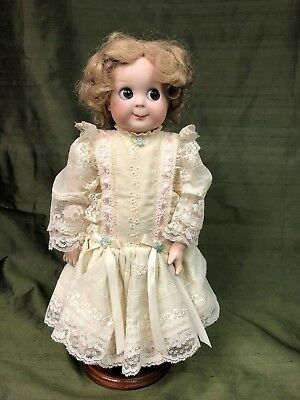 KRAMMER REINHARDT K&R and Simon & Halbig Replica of ANTIQUE Googly GERMAN Doll
