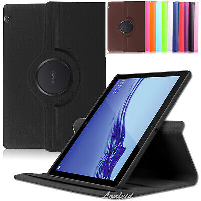 360°Huawei MediaPad T5 10.1 Tablet Schutz Hülle Case Tasche Smart Cover +Pen-N