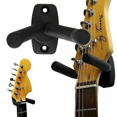 Lots Guitar Hanger Adjustable Wall Mount Display Bracket Hook Holder Stand Arm