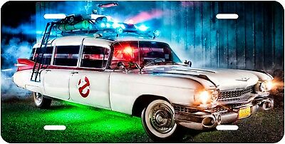 Ghostbusters Movie Car Novelty License Plate