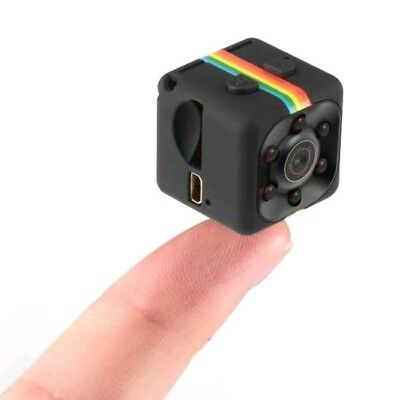 SQ11 Mini Cube Action Camera - Full HD 1080P DVR - Sold From Australia
