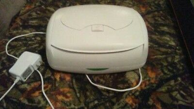 Baby Wipes Warmer Good Condition White