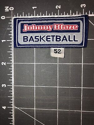 JOHNNY BLAZE BASKETBALL JB Patch Tag Hip Hop Culture Rap Streetball  Freestyle