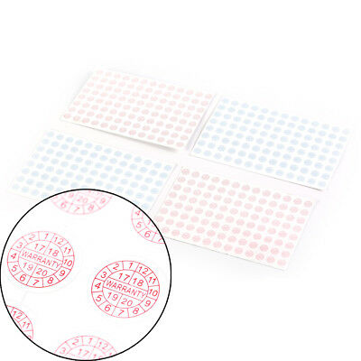 208X Security Seal Tamper Proof Warranty fragile Void Label Sticker 2017-2020 Dy