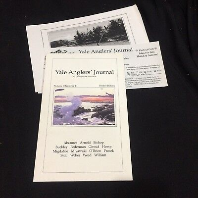 Yale Anglers' Journal 1998 Volume II, Number 1~Fly Fishing Literature~Prosek HTF