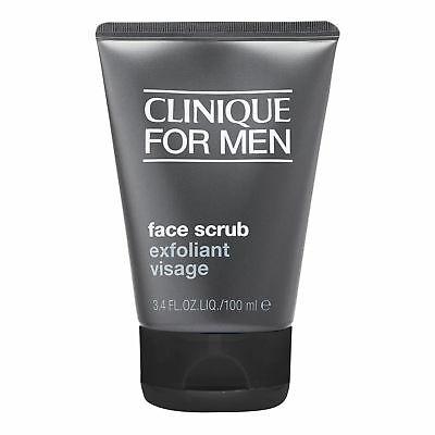 Clinique For Men Face Scrub 100ml Skincare Face Cleansing Clearance Sale genuine