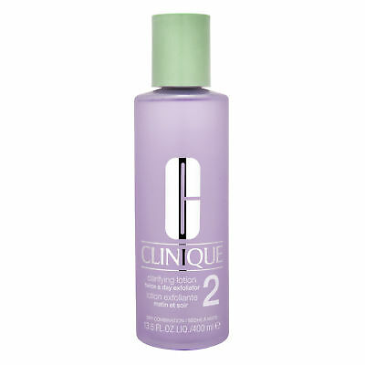 Clinique Clarifying Lotion Type 2 400ml Dry Combo Skincare Toner Smooth genuine