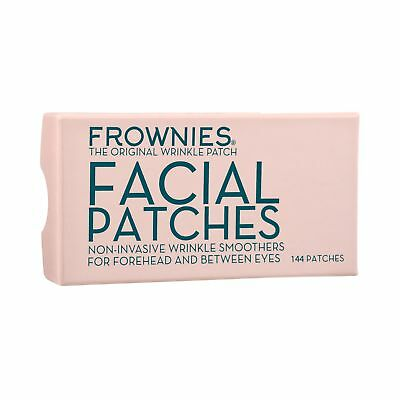 FROWNIES Facial Patches Wrinkles Forehead & Btw Eyes 144pcs Anti-Wrinkle genuine