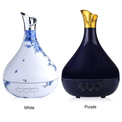 300ml LED 7Color Essential Oil Aroma Diffuser Ultrasonic Humidifier Air Purifier