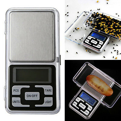 200g x 001g Portable Mini Digital Pocket Scale Balance Weight Jewelry  &