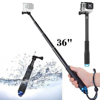Extendable Selfie Stick Handheld Monopod for GoPro HERO 6 5 6 4 3+/3 Session UK