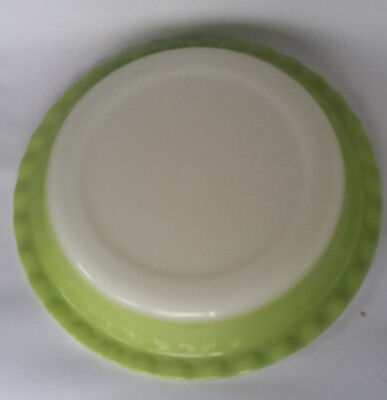 RETRO CROWN Agee Pyrex Pie Dish GREEN 26 cm diameter