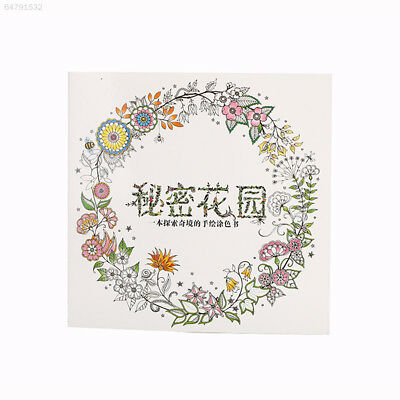 48F4 Adult Coloring Book Painting Book Coloring Book Stress Relief Drawing