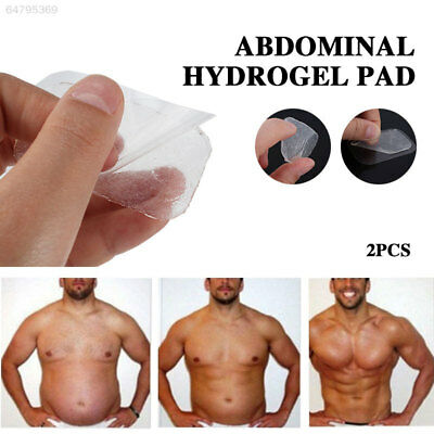 4F21 Massage Fitness Stickers Hydrogel Pads Hydrogel Paste Abdominal Muscle