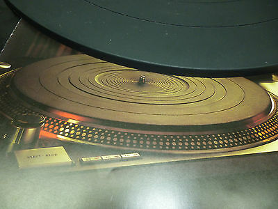 SL-1200 mk2 Rubber Turntable Mat 6 MM Original Technics Parts SFTG172-01/RGS0010