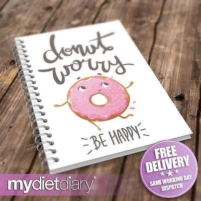 FOOD DIARY SLIMMING WORLD COMPATIBLE - Donut Worry (S032W) 12wk diet slimming
