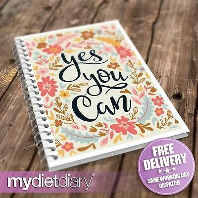 SLIMMING WORLD COMPATIBLE DIARY - Yes You Can (S034W) 12wk diary notebook diet