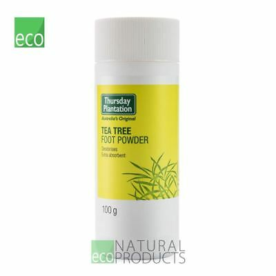 Thursday Plantation Natural Foot Powder Tea Tree 100g