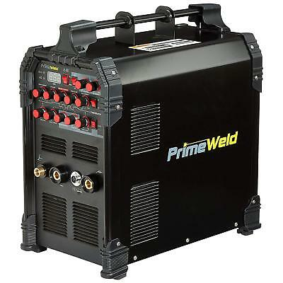 PRIMEWELD TIG225X 225 Amp IGBT AC DC Tig/Stick Welder with Pulse CK17 Flex Torch