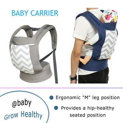 Cool Style Baby Carrier Backpack Durable Stretchy Wrap 8-32 Lbs 0-3 Yrs Outdoor