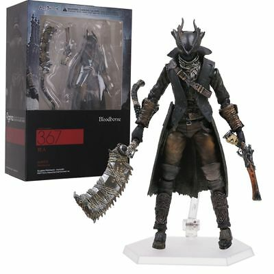 Max Factory Figma 367 Bloodborne Hunter Japan Action Figure Toy In Box Kids Gift
