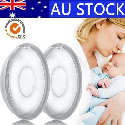 2Pcs Reusable Anti-Overfill Breast Pad Breast Correcting Shell Nursing Cup Milk