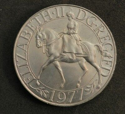 1977 United Kingdom Crown In Excellent Condition Coronation Jubilee