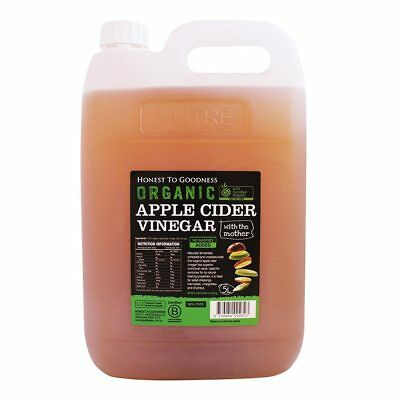 Honest To Goodness Certified Organic Apple Cider 5 litres