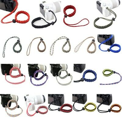 For Camera U Disk Cell Phone Nylon Lanyard Hand Wrist Strap Rope Band Colorful