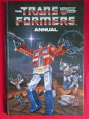 Transformers Annual 1987 #2 Hardcover Vintage Marvel Comics, Beautiful Condition