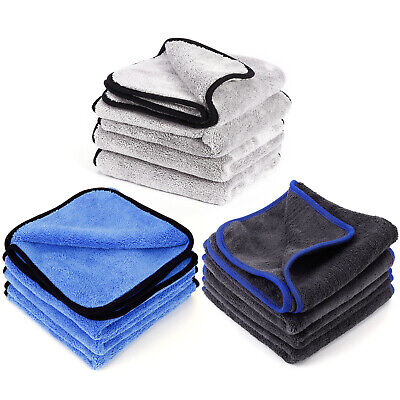 Large Microfibre Cleaning Cloths Car Detailing Polishing Wash Drying Towels