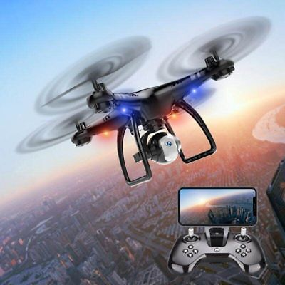 X8 Wifi RC FPV Drone With HD Camera Headless Mode Altitude Hold RTF Quadcopter