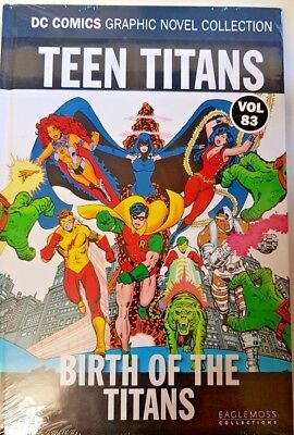 Dc Comics =Graphic Novel Collection = Vol 83 = Teen Titans = Birth Of The Titans