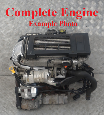 BMW Mini Cooper S R52 R53 Petrol W11 170HP Bare Engine W11B16A WARRANTY