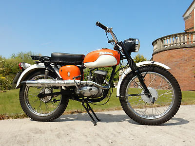 BSA BANTAM BUSHMAN PASTORAL 1967 175cc MATCHING NUMBERS - See Video