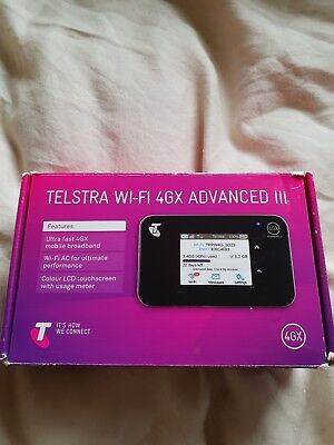 Telstra WiFi 4GX wifi Advanced 3