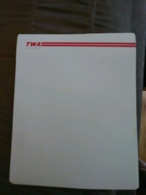 TWA Airlines In Flight Stationery  20 sheets