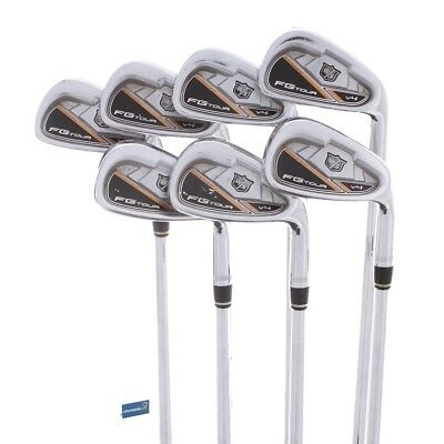 Wilson Staff FG Tour V4 Steel Irons 5-AW / Extra Stiff Shaft Dynamic Gold DG ...